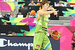 06.09.2014. Barcelona, Spain. 2014 FIBA Basketball World Cup, round of 16. Picture show J. Klobucar in action during game between Dominican Republic  v Slovenia  at Palau St. Jordi