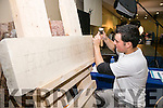 Killian O'Flaherty stone masonry and Stone Cutting at the Kerry ETB's Further Education and Training Fair in the The Brandon Hotel on Thursday