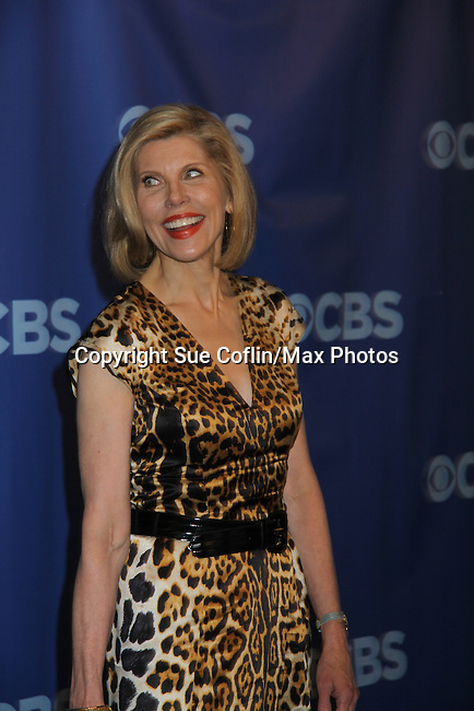 "Christine Baranski - All My Children ""Jewel Maniscalo"" and Another World ""Beverly Tucker""  at the CBS Upfront 2011 on May 18, 2011 at Lincoln Center, New York City, New York. (Photo by Sue Coflin/Max Photos)"