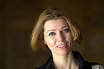 Elif Shafak at Christ Church during the Sunday Times Oxford Literary Festival, UK, 2-10 April 2011. <br />