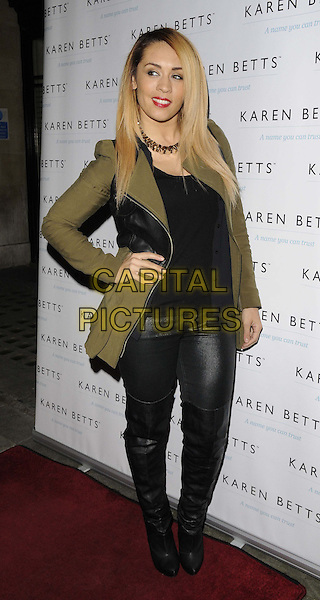 LONDON, UNITED KINGDOM - NOVEMBER 25: AJ Azari attends the Gift of Confidence party hosted by make up artist Karen Betts at Vanilla on November 25, 2013 in London, England. <br /> CAP/CAN<br /> &copy;Can Nguyen/Capital Pictures
