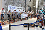 The 12 hour Spinathon in Scotch hall. Photo:Colin Bell/pressphotos.ie