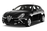 2015 Alfa Romeo Giulietta Distictive 5 Door SUV angular front stock photos of front three quarter view