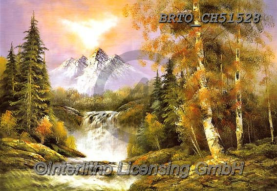 Alfredo, LANDSCAPES, LANDSCHAFTEN, PAISAJES, paintings+++++,BRTOCH51528,#l#, EVERYDAY ,puzzle,puzzles