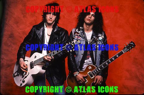 GUN AND ROSES 1987 1988, STUDIO, LIVE