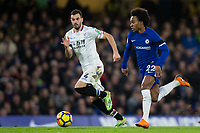 Chelsea's Willian in action <br /> <br /> Photographer Craig Mercer/CameraSport<br /> <br /> The Premier League - Chelsea v Crystal Palace - Saturday 10th March 2018 - Stamford Bridge - London<br /> <br /> World Copyright &copy; 2018 CameraSport. All rights reserved. 43 Linden Ave. Countesthorpe. Leicester. England. LE8 5PG - Tel: +44 (0) 116 277 4147 - admin@camerasport.com - www.camerasport.com