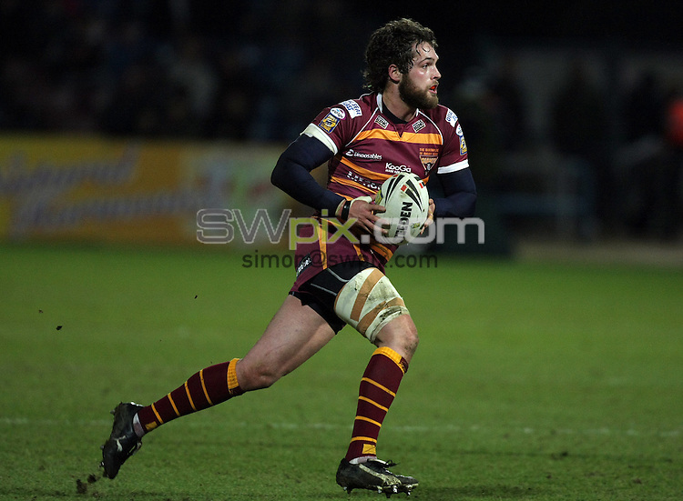 PICTURE BY VAUGHN RIDLEY/SWPIX.COM - Rugby League - Superleague - Huddersfield v Hull FC - Galpharm Stadium, Hull, England  - 06/03/09...Copyright - Simon Wilkinson - 07811267706...Huddersfield's Joe Walsh.