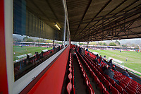 A general view inside the ground ahead of the Sky Bet League 2 match between Cheltenham Town and Cambridge United at the LCI Stadium, Cheltenham, England on 18 March 2017. Photo by Mark  Hawkins / PRiME Media Images.