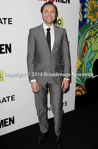 Pictured: Vincent Kartheiser<br /> Mandatory Credit &copy; Frederick Taylor/Broadimage<br /> &quot;Mad Men&quot; Season 7 Premiere <br /> <br /> 4/2/14, Hollywood, California, United States of America<br /> <br /> Broadimage Newswire<br /> Los Angeles 1+  (310) 301-1027<br /> New York      1+  (646) 827-9134<br /> sales@broadimage.com<br /> http://www.broadimage.com