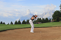 Brett Rumford (AUS) on the 17th on the 1st day of the Omega European Masters, Crans-Sur-Sierre, Crans Montana, Switzerland..Picture: Golffile/Fran Caffrey..