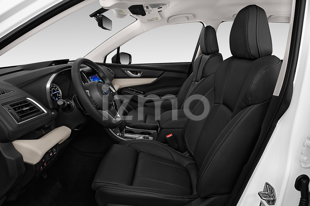 Front seat view of a 2019 Subaru Ascent Limited 5 Door SUV front seat car photos