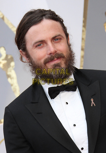 26 February 2017 - Hollywood, California - Casey Affleck. 89th Annual Academy Awards presented by the Academy of Motion Picture Arts and Sciences held at Hollywood &amp; Highland Center. <br /> CAP/ADM<br /> &copy;ADM/Capital Pictures