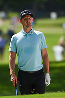 Justin Rose (GBR) looks over his hit from the trap on 2 during round 2 of the 2019 Charles Schwab Challenge, Colonial Country Club, Ft. Worth, Texas,  USA. 5/24/2019.<br /> Picture: Golffile   Ken Murray<br /> <br /> All photo usage must carry mandatory copyright credit (© Golffile   Ken Murray)