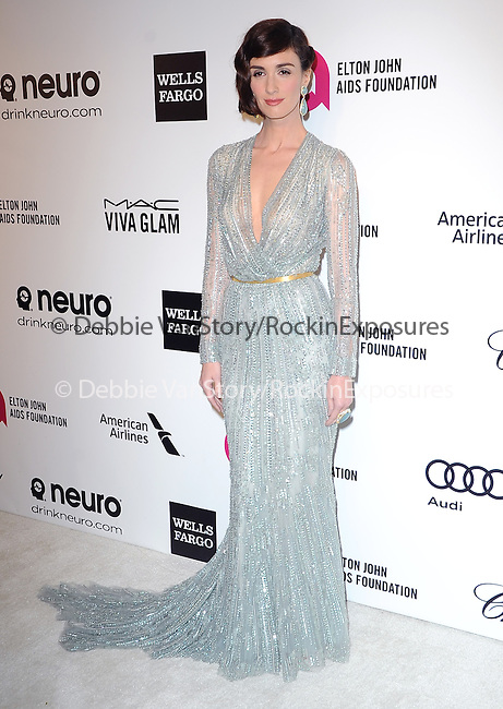Paz Vega attends the 2014 Elton John AIDS Foundation Academy Awards Viewing Party in West Hollyood, California on March 02,2014                                                                               © 2014 Hollywood Press Agency