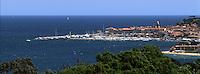 Europe/France/Provence-Alpes-Côte d'Azur/83/Var/Saint-Tropez: Le golfe et le village