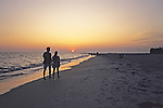 Sarasota Beach Sunset W/ Couple