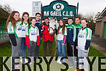 Nora O'Connell, Nessa Mageraty, Meagan Sheehy, Tadgh Lynch, Eamon Brown and Thunder, Sarah Quigley, Rory Murphy, Seamus Hardy, Jaden Lucey launch the Na Gaeil Gala Race Night on Saturday 22nd of November 2014 8.30pm
