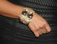 May 21, 2012 Close up of  Tia Carrere's bracelet as she attends the Celebrity Apprentice Finale at the American Museum of Natural History in New York City. © RW/MediaPunch Inc.