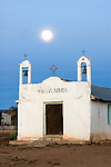 Church at a Ranching Village at Sierra de San Francisco Region of Baja California  Sur, Mexico