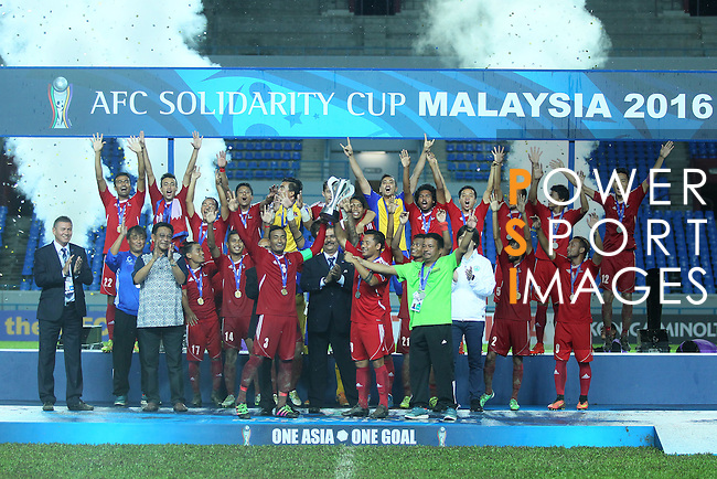 Nepal vs Macau during their AFC Solidarity Cup Malaysia 2016 Final match at Sarawak Stadium on 15 November 2016, in Kuching, Malaysia. Photo by Simon Yap / Lagardere Sports