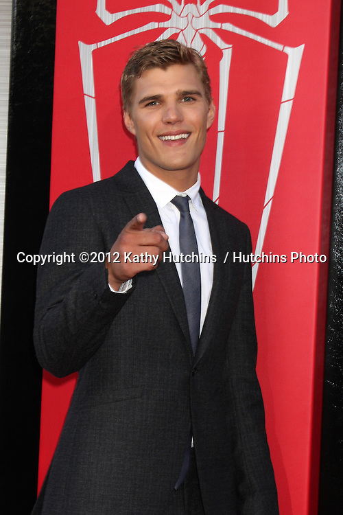 "LOS ANGELES - JUN 28:  Chris Zylka arrives at the ""The Amazing Spider-Man"" Premiere at Village Theater on June 28, 2012 in Westwood, CA"