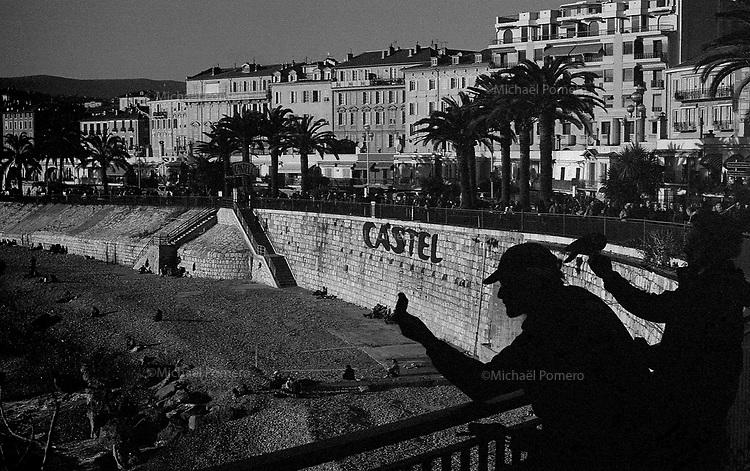 12.2012 Nice<br /> <br /> Castel plage.<br /> <br /> Castel beach.