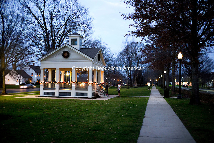 Southbury, CT- 25 December 2015-122515CM02- The Planning and Zoning Commission recently won a third award for the town of Southbury's streetscape along Main Street South. This time from the American Institutes of Architects' Connecticut Chapter. Christopher Massa Republican-American