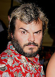 """Actor Jack Black arrives to the """"Iron Man"""" premiere at Grauman's Chinese Theatre on April 30, 2008 in Hollywood, California."""