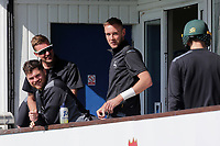Stuart Broad on the Nottinghamshire balcony ahead of Essex CCC vs Nottinghamshire CCC, Specsavers County Championship Division 1 Cricket at The Cloudfm County Ground on 14th May 2019
