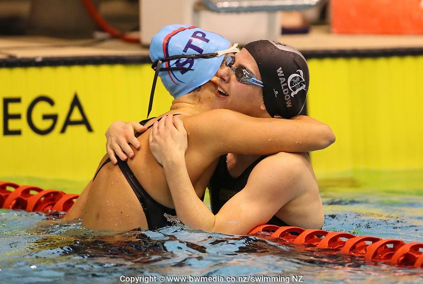 Alice Waldow.  Swimming New Zealand Aon National Age Group Championships, Wellington Regional Aquatic Centre, Wellington, New Zealand, Saturday 20 April 2019. Photo: Simon Watts/www.bwmedia.co.nz