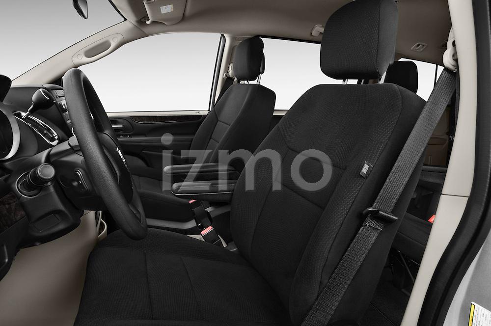 Front seat view of 2018 Dodge Grand-Caravan SE 5 Door Minivan Front Seat  car photos