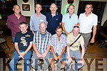 Former workers at Denny&rsquo;s held a reunion in the Greyhound Bar on Friday night. <br /> Seated l-r, Johnny Foley, Noel Lawlor, John Dineen and Jimmy Doyle. <br /> Back l-r, Michael Leahy, Danny Curran, Andrew Boyle, Tom O&rsquo;Donnell and Joe Walsh.