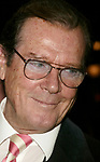 Roger Moore attends the Opening Night Celebration as Whoopi Goldberg returns to Broadway in WHOOPI, the new, updated version of the one-woman show that launched her career. The twelve week limited engagement plays at the Lyceum Theatre in New York City.<br />November 17, 2004