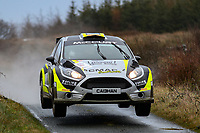 2nd February 2020; Galway, Galway, Ireland; Irish Tarmac Rally Championship, Galway International Rally;  Cathan McCourt and Barry McNulty (Ford Fiesta R5) finish the rally in 7th place overall