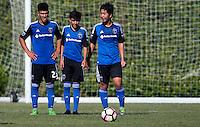 Carson, CA - November 5, 2016: The U.S. Soccer Development Academy 2016 U-13/U-14 West Regional Showcase at StubHub Center.