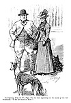 """Non-Sporting Lady (to Mr. Slips, who has been expatiating on the merits of his best Greyhound). """"Is he any good at Rats?"""""""