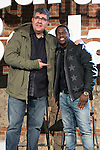 "Florentino Fernandez and Kevin Hart attends the ""The Wedding Ringer"" Presentation at Matadero, Madrid,  Spain. February 05, 2015.(ALTERPHOTOS/)Carlos Dafonte)"