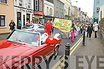 Santa arrives in Cahersiveen for the 8th December shopping day being followed by members of the CCE Barr na Sraide Wren Group.