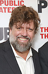 """Oskar Eustis during the Off-Broadway Opening Night performance party for """"Plenty""""  at the Public Theatre on October 20, 2016 in New York City."""