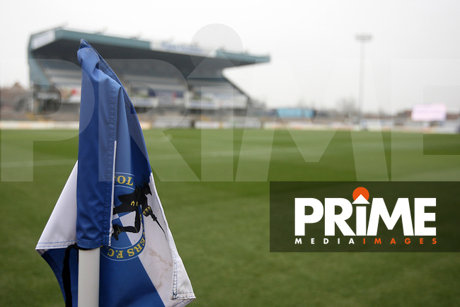 The Memorial Stadium before the Sky Bet League 1 match between Bristol Rovers and Fleetwood Town at the Memorial Stadium, Bristol, England on 25 January 2020. Photo by Dave Peters / PRiME Media Images.