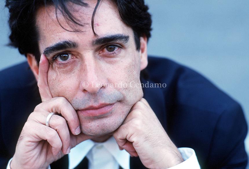 APR 2000, ROMA: ALUIZIO ABRANCHES, DIRECTOR © Leonardo Cendamo