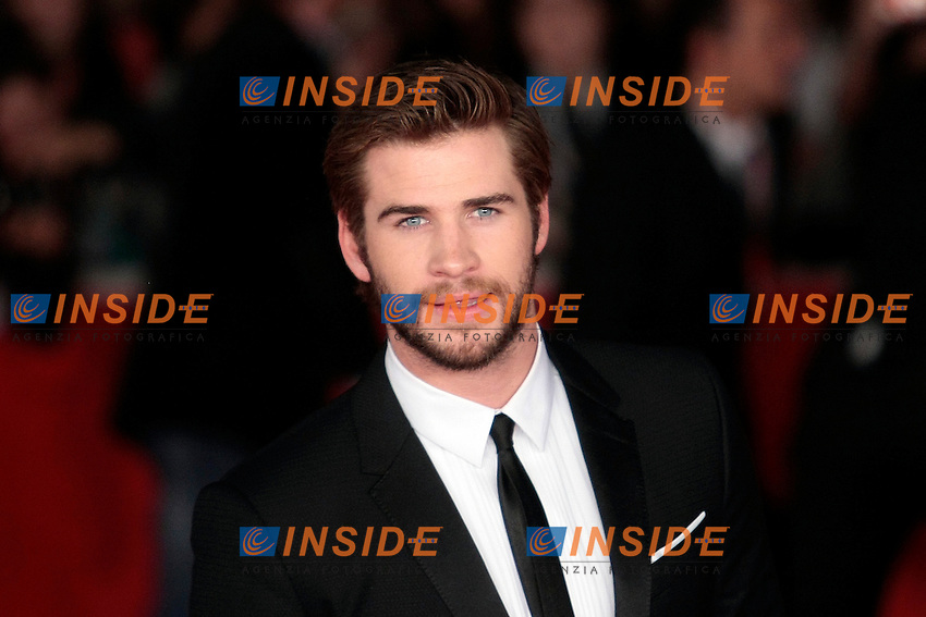 Liam Hemsworth<br /> Roma 14-11-2013 Auditorium <br /> Festival Internazionale del Film di Roma<br /> Rome Film Festival <br /> 'The Hunger Games: Catching Fire / Hunger Games - La ragazza di fuoco' Red Carpet<br /> Foto Samantha Zucchi / Insidefoto