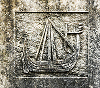 Sailing Ship Carving, Scotland