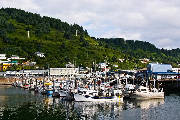 St. Paul Boat Harbor on Kodiak Island, Alaska