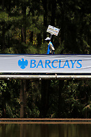 Scoreboard carrier during the third round of the of the Barclays Kenya Open played at Muthaiga Golf Club, Nairobi,  23-26 March 2017 (Picture Credit / Phil Inglis) 25/03/2017<br /> Picture: Golffile | Phil Inglis<br /> <br /> <br /> All photo usage must carry mandatory copyright credit (© Golffile | Phil Inglis)