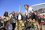 Norweigan National Champion Edvald Boasson Hagen (NOR) Team Dimension Data at sign on for the 115th edition of the Paris-Roubaix 2017 race running 257km Compiegne to Roubaix, France. 9th April 2017.<br /> Picture: Eoin Clarke | Cyclefile<br /> <br /> <br /> All photos usage must carry mandatory copyright credit (&copy; Cyclefile | Eoin Clarke)