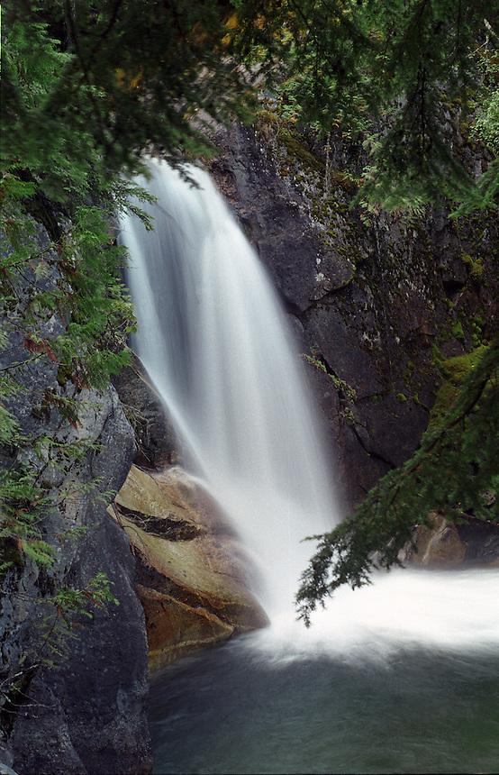 Powder Creek Falls near Kaslo, BC.
