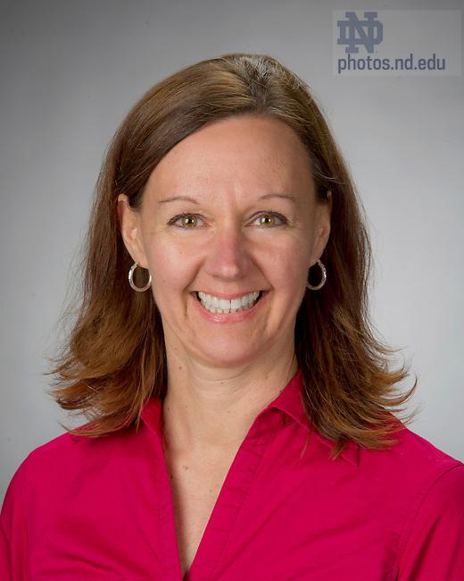 Apr 10, 2013; Christa L LeeVan, Travel Director, Alumni Association. Photo by Barbara Johnston/ University of Notre Dame
