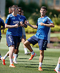 24.06.2019 Rangers training in Algarve: Jake Hastie and Jordan Jones