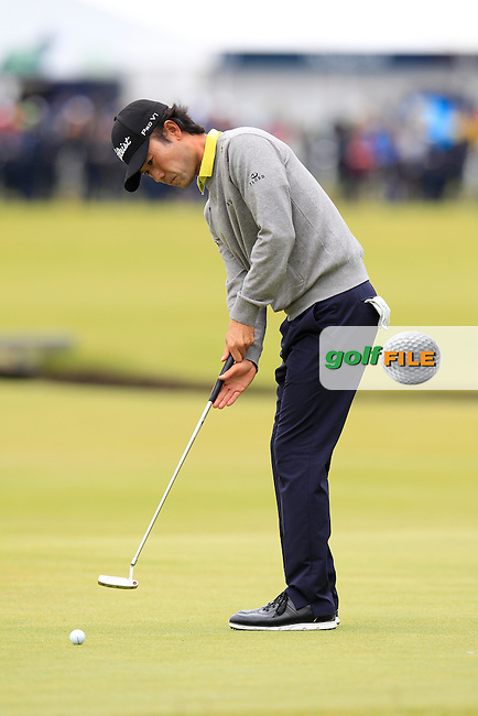 Kevin NA (USA) during the final round on Monday of the 144th Open Championship, St Andrews Old Course, St Andrews, Fife, Scotland. 20/07/2015.<br /> Picture: Golffile | Fran Caffrey<br /> <br /> <br /> All photo usage must carry mandatory copyright credit (&copy; Golffile | Fran Caffrey)
